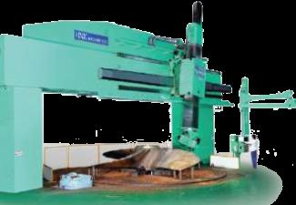 Станки для обработки лопастей гребных винтов (Судостроение) HPMC